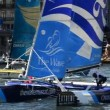 OmAir compete in Extreme Sailing Series — Stock Video #13977331
