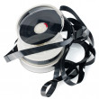 Pile of videotape reels — Stock Photo