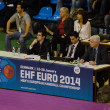 Stock Photo: EHF EURO 2014 judges