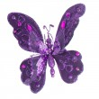 Butterfly Christmas tree ornament — Stock Photo #14497437