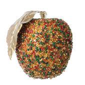 Christmas apple decoration — Stock Photo