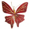 Butterfly Christmas tree ornament — Stock Photo #14613779