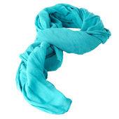 Blue scarf — Stock Photo