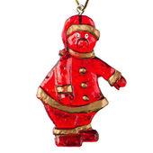 Christmas Toy Santa Claus — Stock Photo