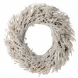 Wreath made with straw — Stock Photo