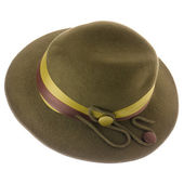 Green vintage hat — Stock Photo
