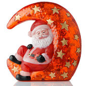 Santa Claus Christmas decoration — Stock Photo