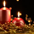 Christmas candles — Stock Video