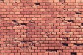Textura de la pared de ladrillo rojo — Foto de Stock