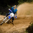 Enduro bike rider — Stock Photo #16618567