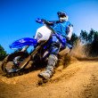 Enduro bike rider — Stock Photo #16618595