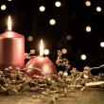 Christmas candles — Stock Photo #16759507