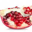 Half pomegranate fruit - Stock Photo