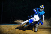 Enduro bike rider — Stockfoto