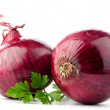 Red onions — Stock Photo #17839397