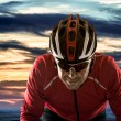 Stock Photo: Cyclist