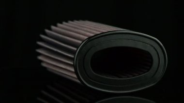 Air cone filter — Stock Video