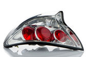 Automobile lamp — Stock Photo