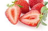 Appetizing strawberries — Stock Photo