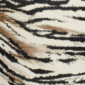 Tiger skin artificial pattern — 图库照片