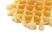 Crisp waffle — Stock Photo