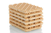 Vanilla wafers — Stock Photo