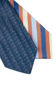 Closeup of two ties — Stockfoto