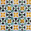 Vintage spanish tiles — Stock Photo