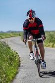 Cyclist — Stock Photo