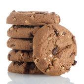 Homemade chocolate cookies — Stock Photo