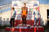 Schule junvenil podium — Stockfoto