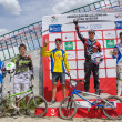 Juniors Elite podium — Stock Photo #25039223