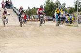 Meesters race start — Stockfoto