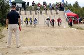 Elitní závodní start — Stock fotografie