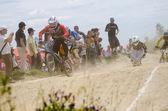 Александро Ким, ведущих гонки — Стоковое фото