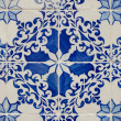 Portuguese glazed tiles. - Foto de Stock