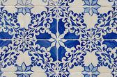 Portugalské glazovaných dlaždic. — Stock fotografie