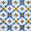 Old ceramic tiles - Stock Photo