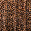 Wicker pattern background  — Stock Photo
