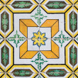 Traditional Portuguese glazed tiles — Stock Photo #26224063