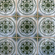 Traditional Portuguese glazed tiles — Stock Photo #26341291