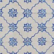 Traditional Portuguese glazed tiles — Stock Photo #26542779
