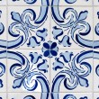 Traditional Portuguese glazed tiles — Stock Photo #26542855