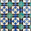 Traditional Portuguese glazed tiles — Stock Photo #28304461