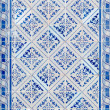 Traditional Portuguese glazed tiles — Stock Photo #28819207