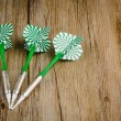 Three arrows darts — Stock Photo