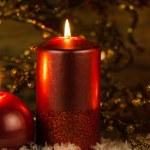 Christmas candles — Stock Photo #30940239