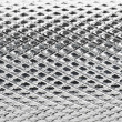 Stock Photo: Metal mesh plating