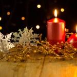 Christmas candles — Stock Photo #31229379