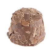 Bruine chocolade snoepjes — Stockfoto